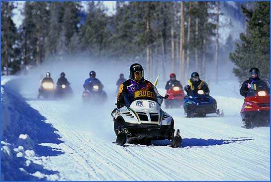 National Parks: Space for Snowmobiles and Science?