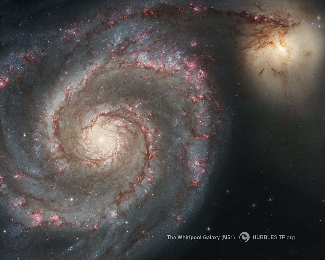 whirlpool galaxy hubble nasa center picture - photo #12