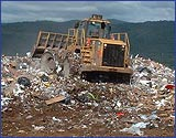 Green as a garbage dump? Waste rots, makes energy…