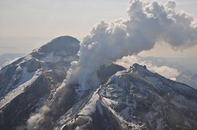 Did a volcanic eruption in Alaska impact weather in the Midwest?