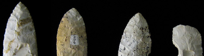 stone tool points