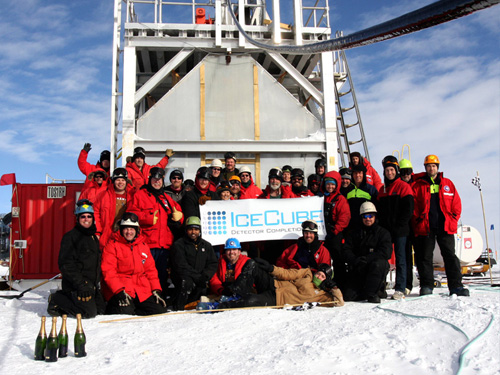 Chasing neutrinos at the South Pole