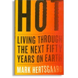 Book cover for 'Hot: Living through the next fifty years on Earth'