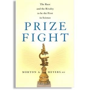 Book cover: 'Prize Fight' by Morton A. Meyers