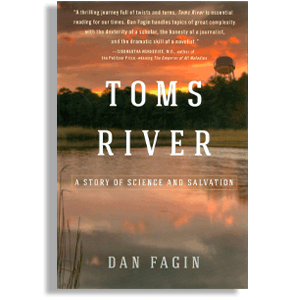 Book cover: 'Toms River', by Dan Fagin