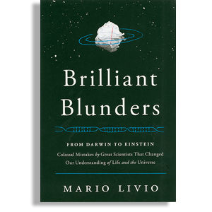 Book cover: Brilliant Blunders by Mario Livio